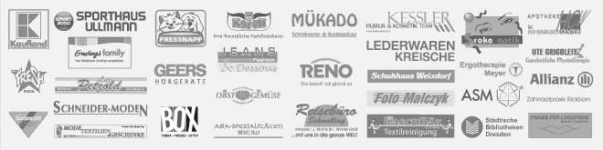 Logos aller Shops im HCW