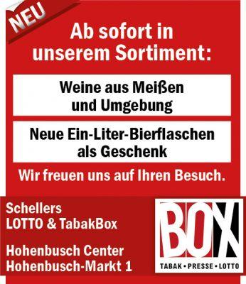 Schellers LOTTO und TabakBox